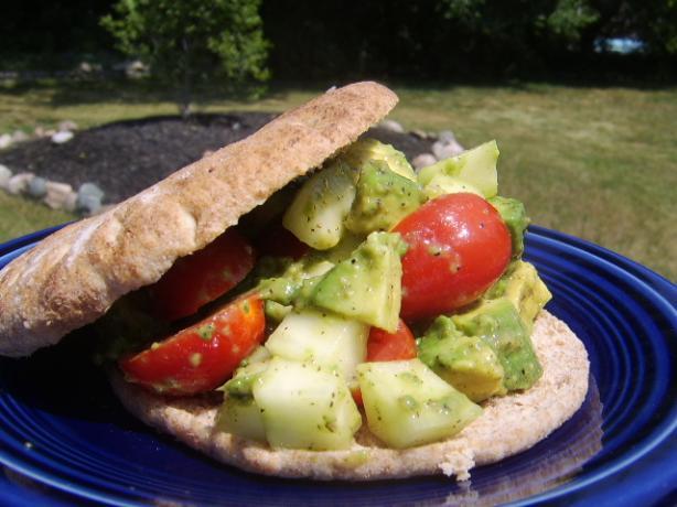 Spiced Avocado Sandwich