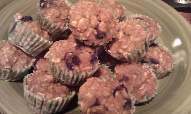 The Ladies Blueberry Muffins