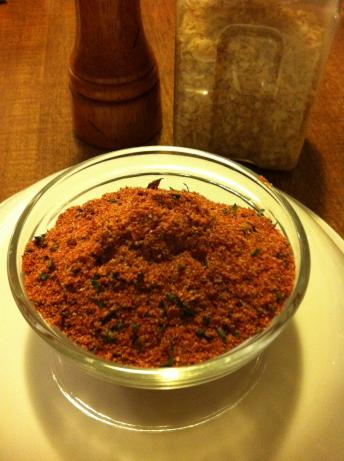 Homemade French Fry Seasoning Blend