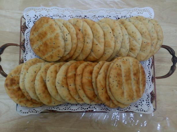 Egyptian Seasoned Countryside Bread (Koras)