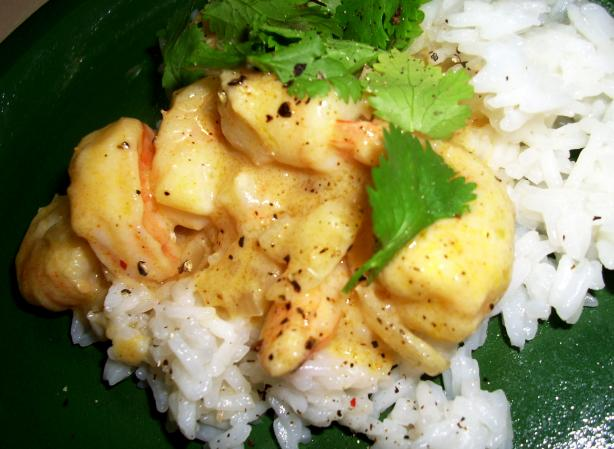 Caribbean Shrimp Curry With Coco Lopez