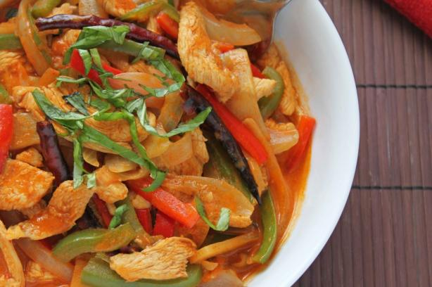 Bangkok Chicken Curry