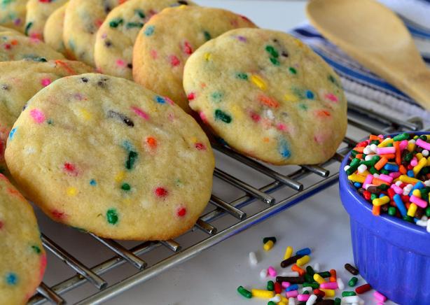 Funfetti Cookies from Scratch