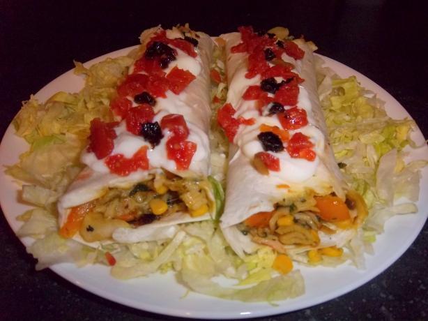 Seafood Burritoes