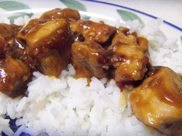 Spicy Sesame Chicken for Two
