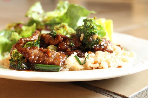 Lighter Mongolian Beef