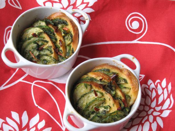 Oven Bake Zucchini Bruschetta