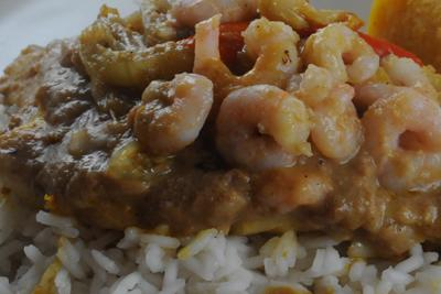 Fried Fish in Peanut Sauce (Cameroon)