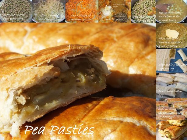 Maltese Pea Pasties - Pastizzi Tal Pizelli