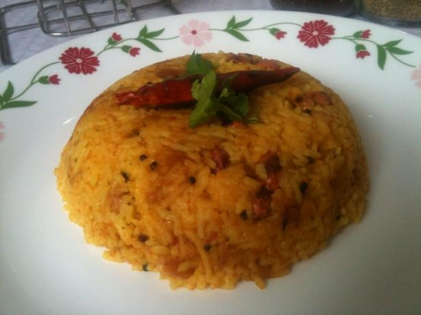 Tomato Coconut Rice