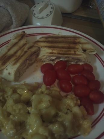 Chicken, Ham, & Mushroom Paninis