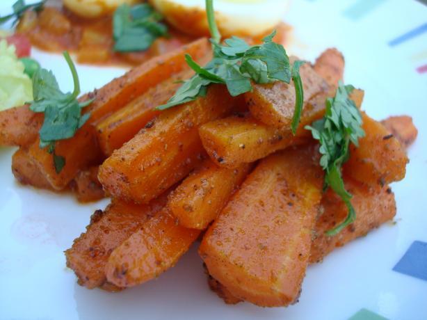Carrots Garam Masala