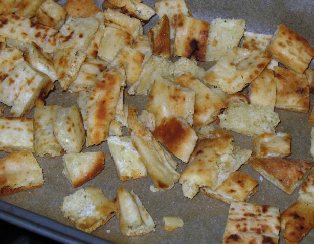 Naan Bread Croutons