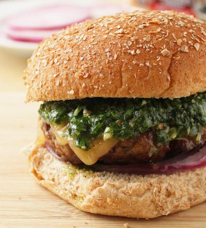 Chimichurri Burgers