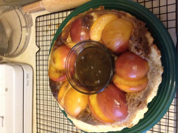 Peach Puzzle Pie