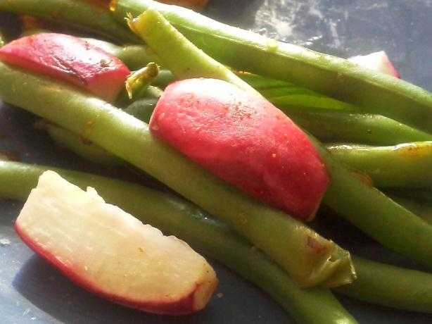 Green Beans and Radish Salad