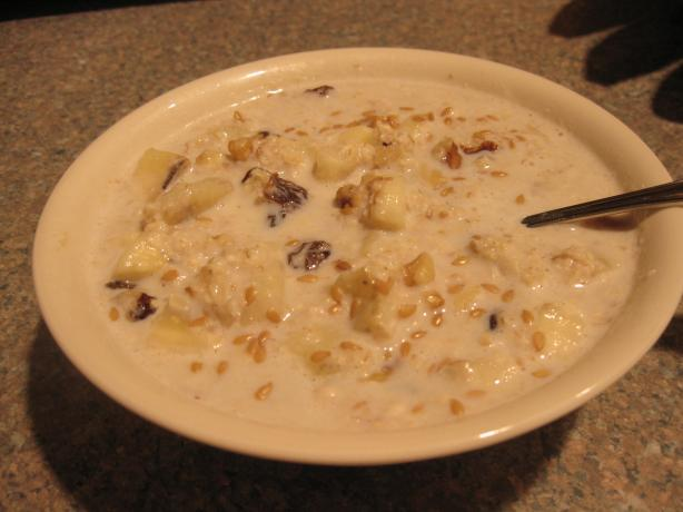 Warm Banana Oatmeal