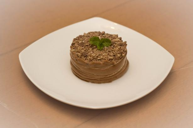 Mini Hazelnut Tortilla Cake