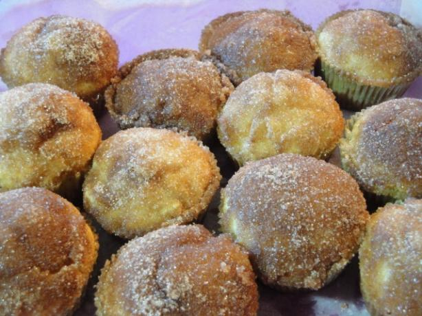 Snickerdoodle Apple Muffins