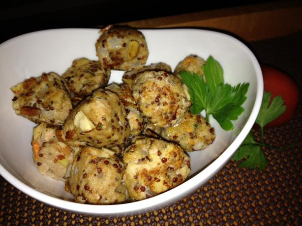 Turkey and Thyme Meatballs With Quinoa