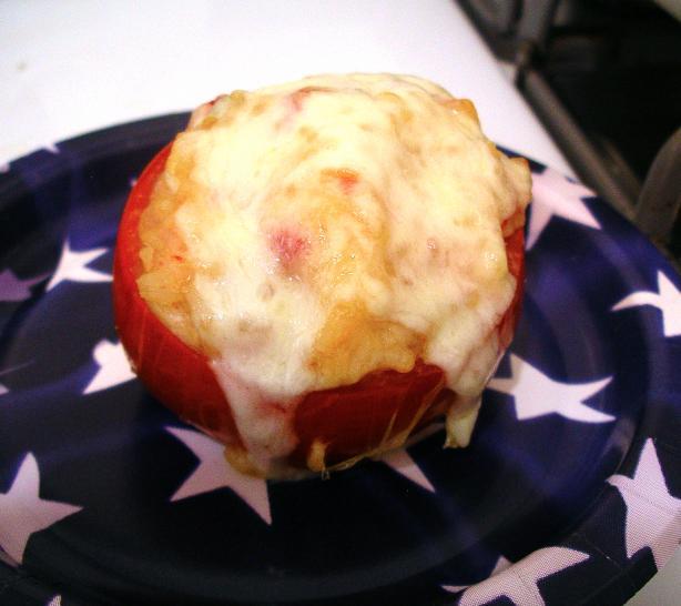Ken's Famous Stuffed Tomatoes