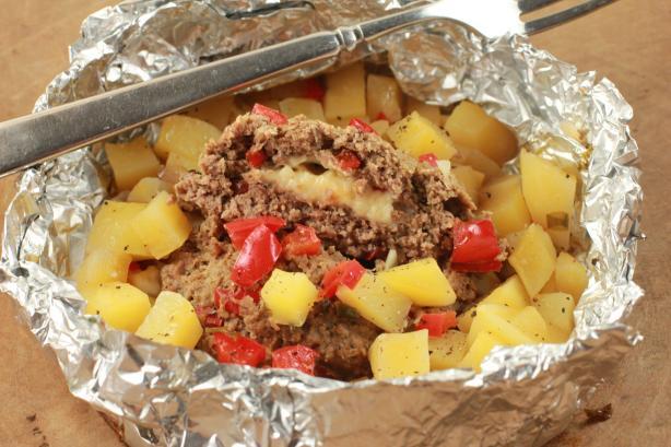 Hobo Adobo Foil Dinner #RSC