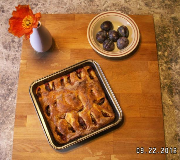 Eileen's Nana's Plum Cake