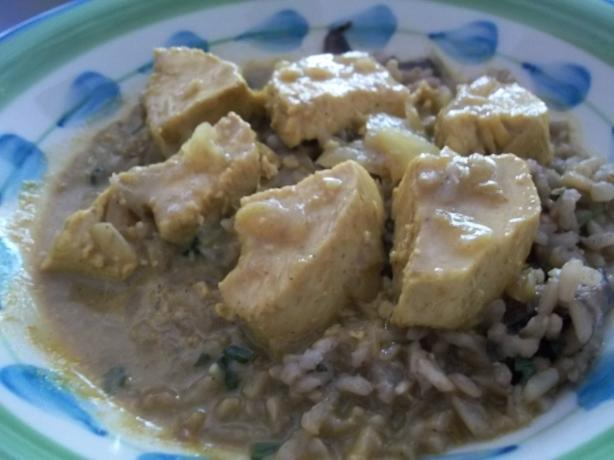 Southern (?!) Chicken Curry