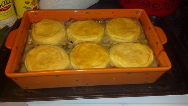 South West Tilapia Pot Pie #RSC