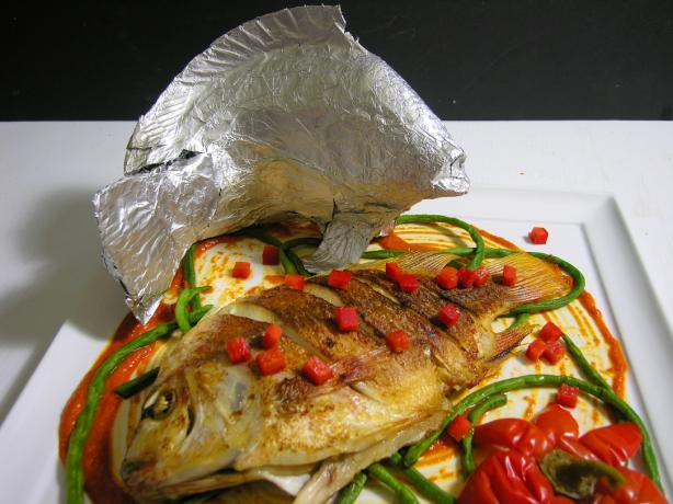 Baked Fresh Whole Tilapia #RSC