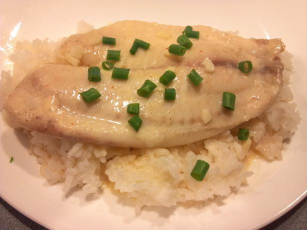 Lemon Cream Tilapia #rsc