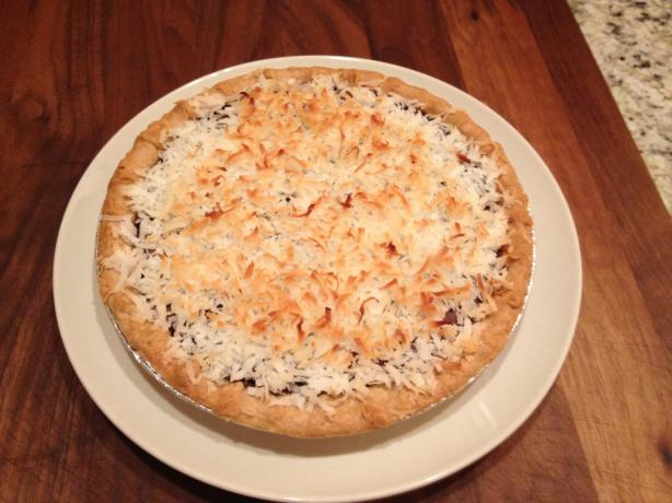 Cocoa Nut Coconut Pie