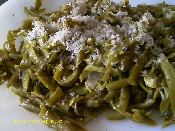 Green Beans With Brazil Nuts