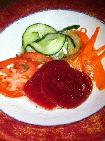 Gemischter Rohkost Salat (Mixed Salad Plate)
