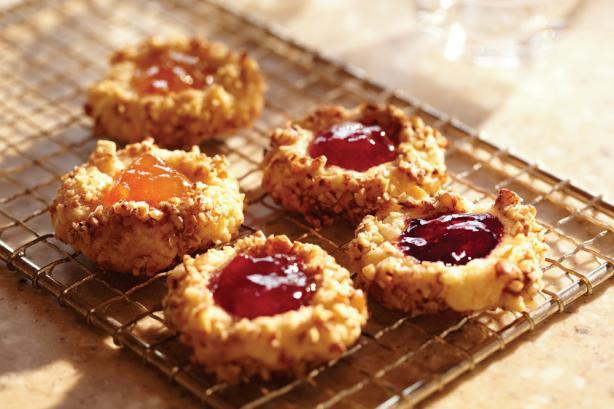 Fruit-Filled Thumbprint Cookies