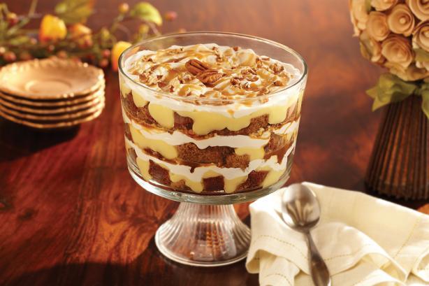 Pumpkin Caramel Trifle
