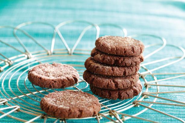 Dark Mocha Cookies