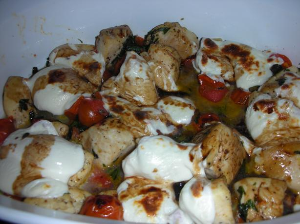 Nif's Chicken Caprese