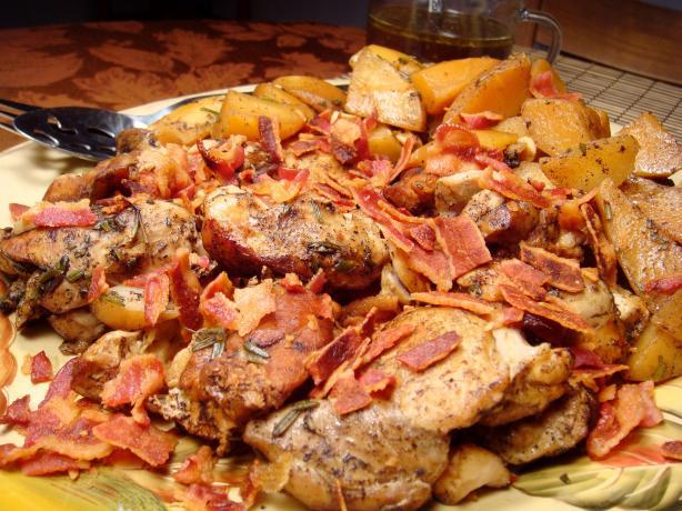 Chicken Balsamico With Yukon Gold Potatoes