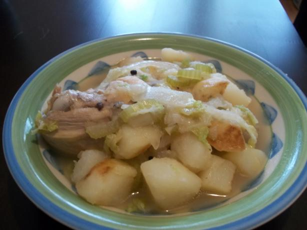 Nilaga (Filipino Chicken Stew)