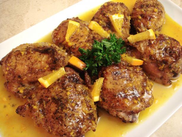 Crispy Orange Chicken