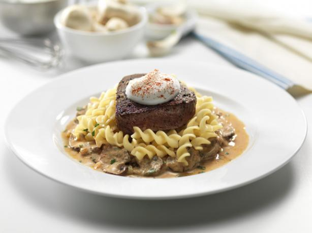 Fillet of Beef With FAGE Total Stroganoff Cream
