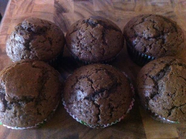 Hurricane Chocolate Muffins