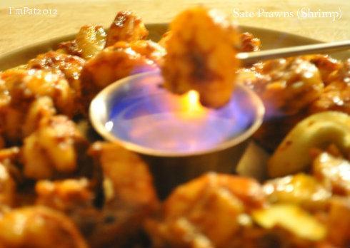 Sate Prawns (Shrimp)