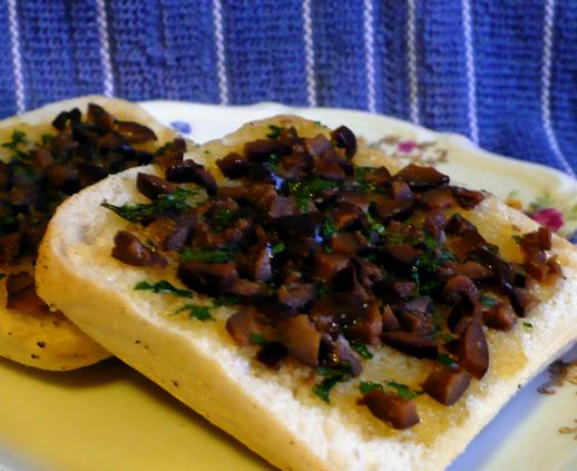 Kalamata Olive and Garlic Butter
