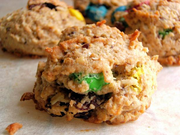 Monster Oatmeal Cookies