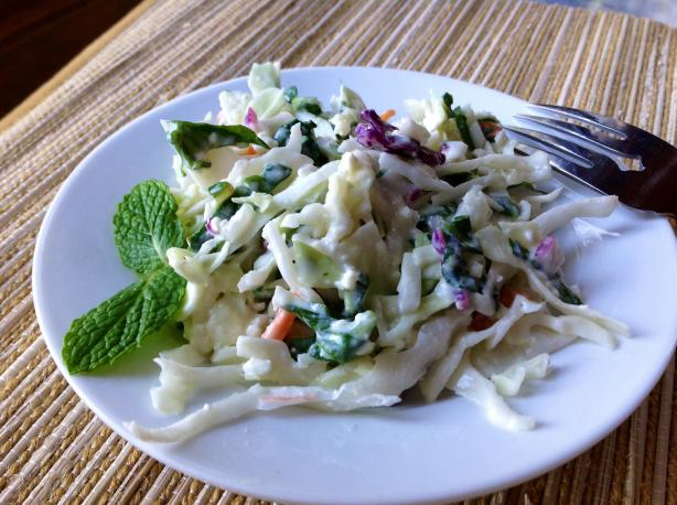 Greek Slaw With Feta