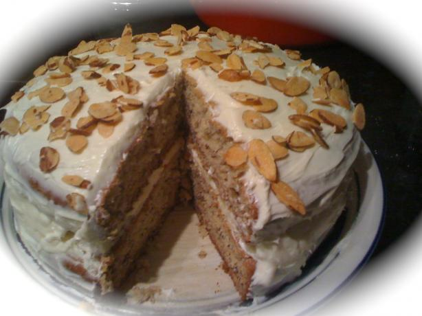 Double Banana Cake With Cream Cheese Frosting