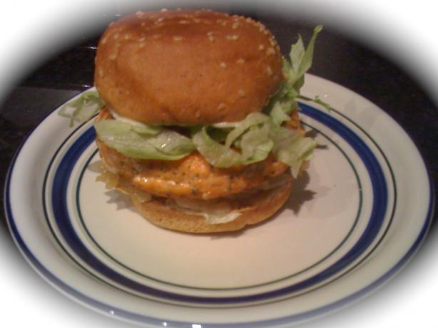 Japanese Salmon Burger