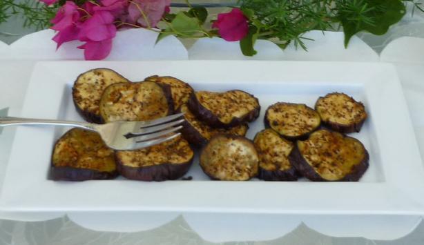 Eggplant Medallions - Roasted